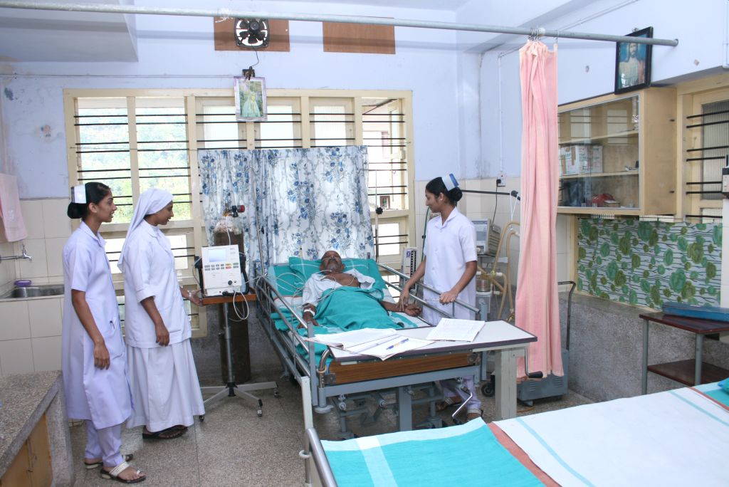 Stiftung St. Vincenz- Hospital unterstützt indisches Partnerkrankenhaus