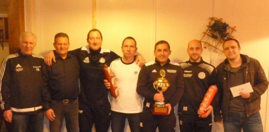Sportfreunde Sch�nstein gewannen 39. Altherren-Turnier in Hamm