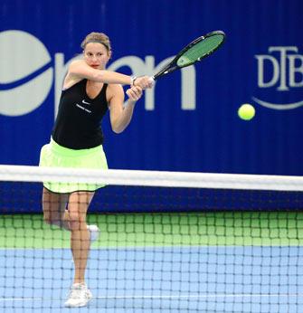 AK ladies open: Quirine Lemoine im Halbfinale