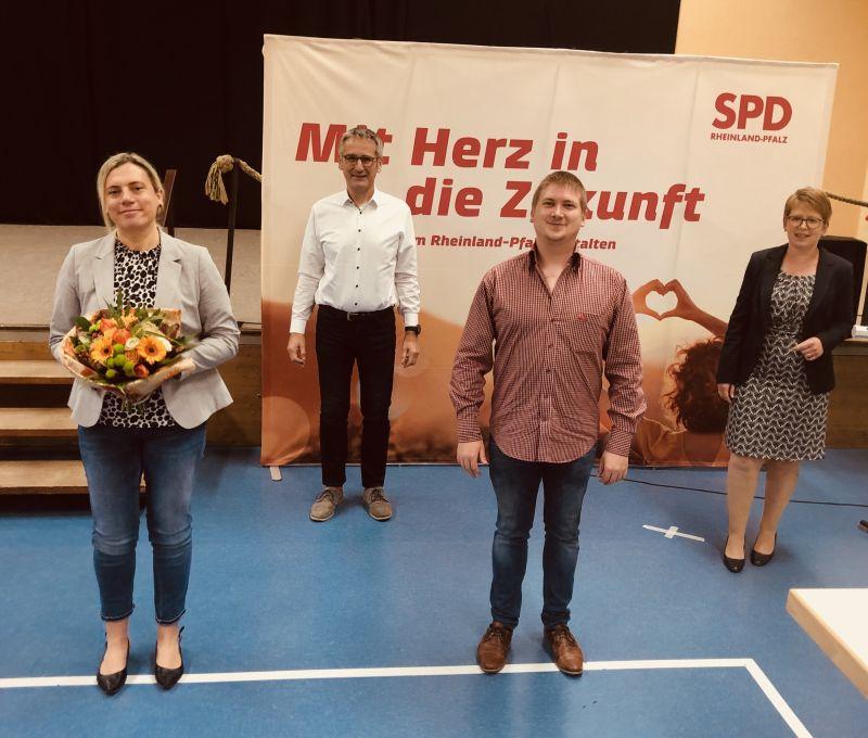 SPD Westerwald stellt Caroline Albert-Woll für den Wahlkreis Montabaur auf