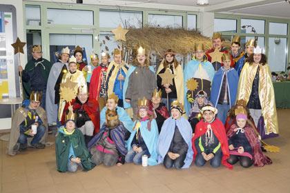 F�rderschule Am Alserberg sammelte flei�ig