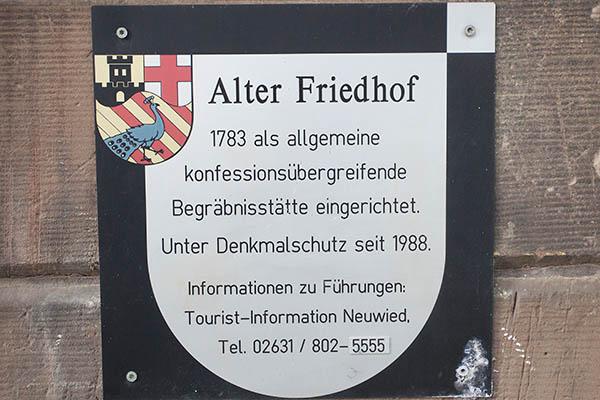 Buchtipp: Historische Persönlichkeiten auf Altem Friedhof in Neuwied