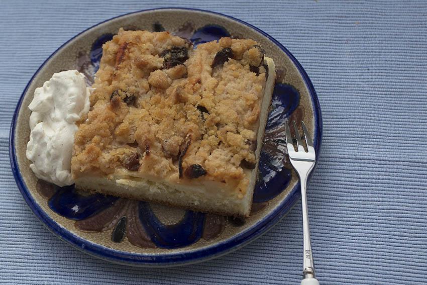 Westerwälder Rezepte: Blechkuchen mit Äpfeln und Birnen
