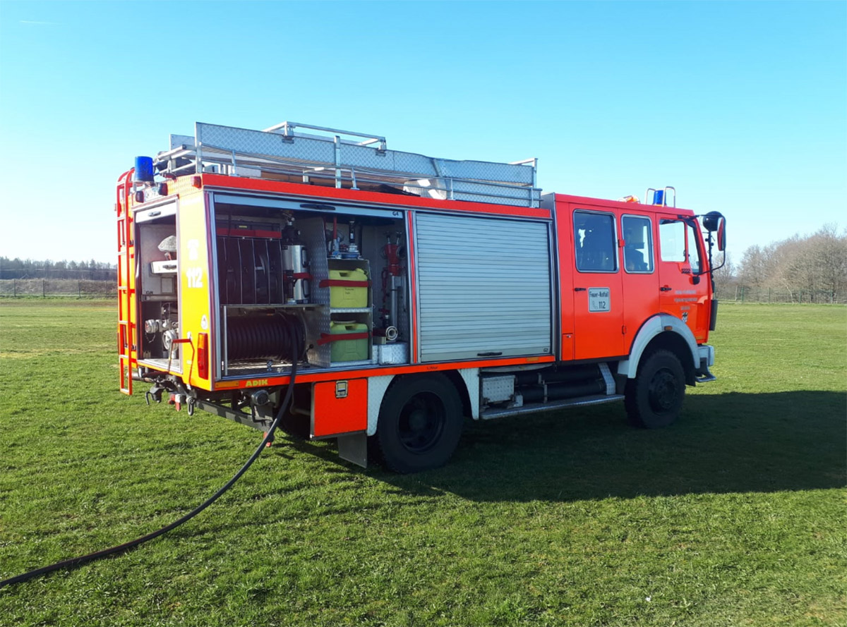 Freiwillige Feuerwehr Katzwinkel bekommt neues Löschfahrzeug