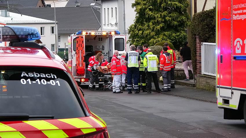 Grund des Großeinsatzes der Rettungskräfte an Heiligabend in Asbach geklärt