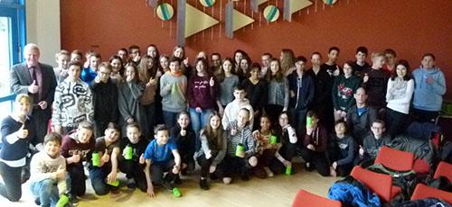 Französische Schüler zu Gast an der Westerwaldschule