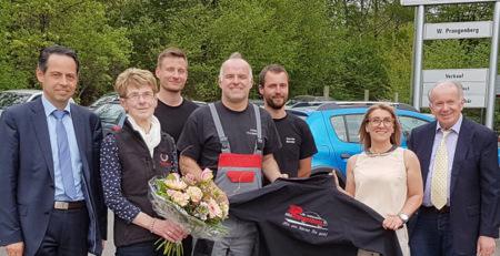 Autohaus Prangenberg feierte 40. Geburtstag
