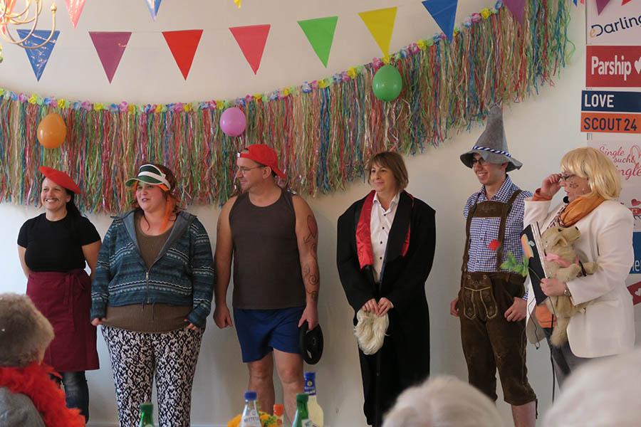 AWO Seniorenresidenz Alte Glaserei feiert ausgelassen Karneval