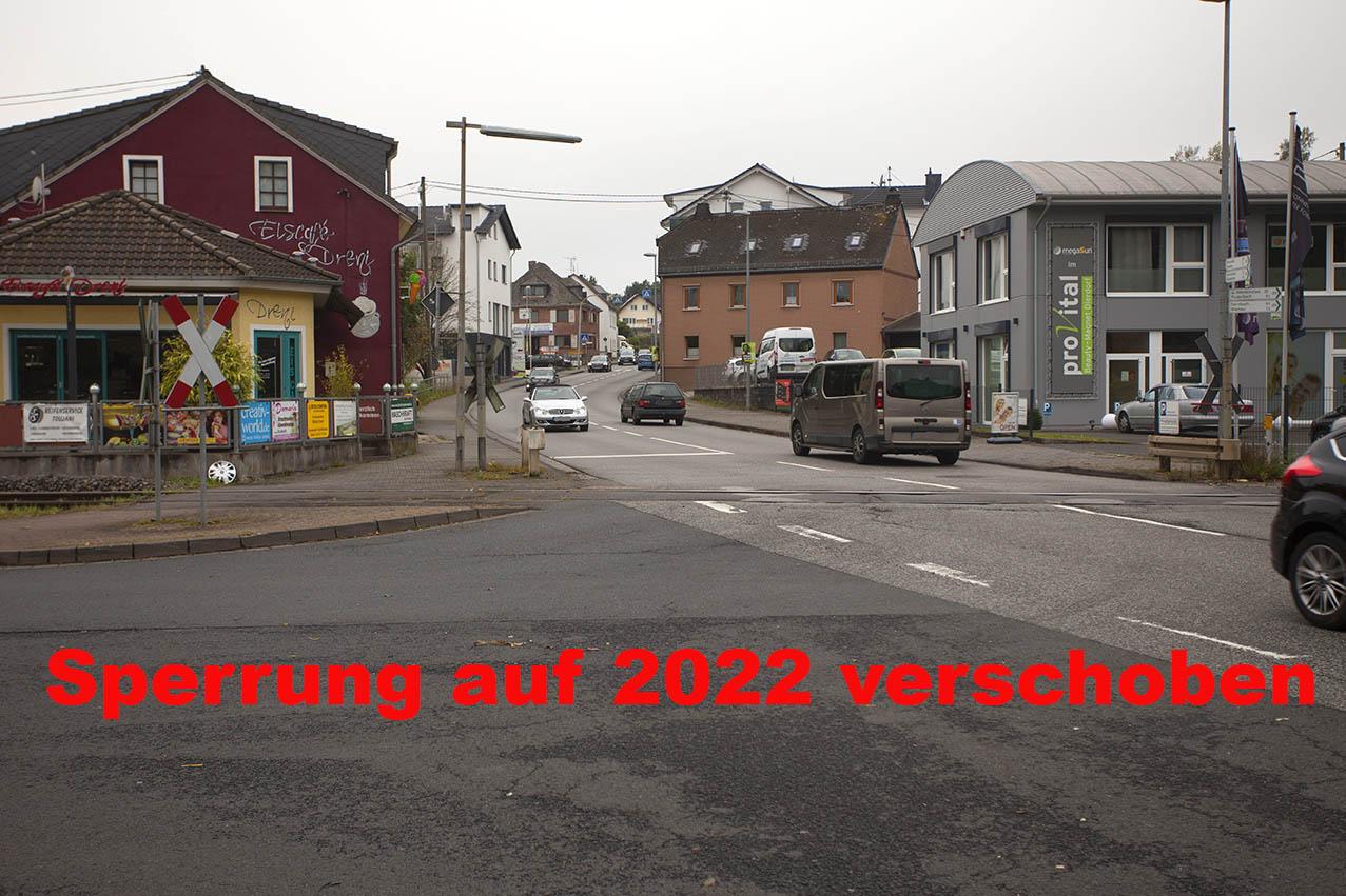 B 413: Ortsdurchfahrt Dierdorf wird voll gesperrt