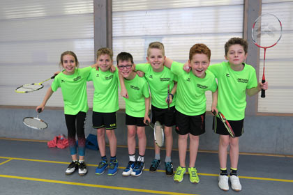 Großes Finale der Badminton U12-Teams in Trier