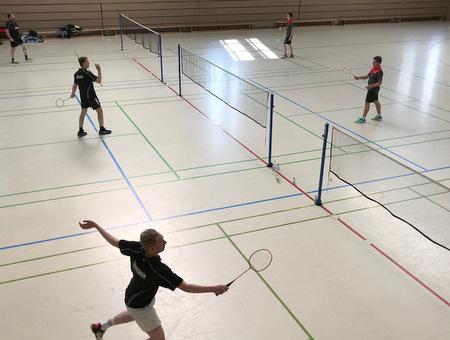 Gebhardshainer Badminton-Senioren sind Vizemeister