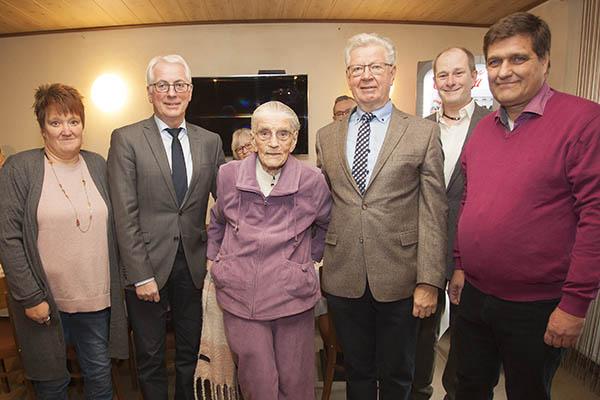 Frieda Bischoffberger aus Raubach feiert 103. Geburtstag