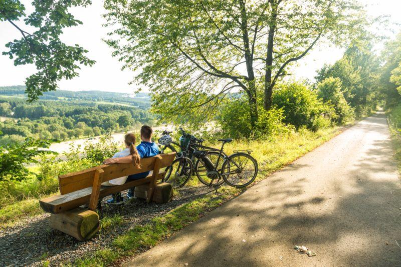 Nister-Wiesensee-Tour: eine große Rundfahrt um den Wiesensee