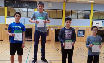 Betzdorfer Badminton-Nachwuchs dreimal auf dem Siegerpodest