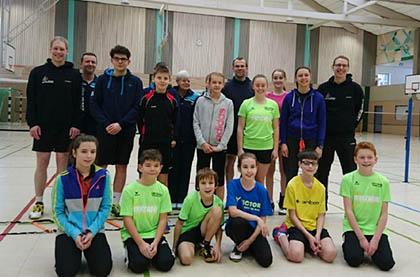 Zwei Tage Badminton auf hohem Niveau in Gebhardshain