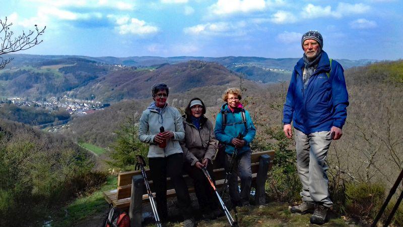 Bad Marienberger auf der Traumtour Bärenkopp