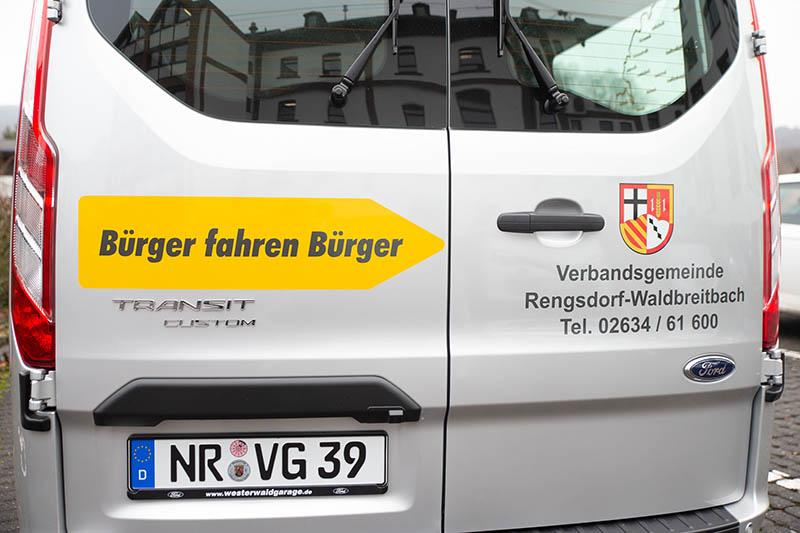 VG Rengsdorf-Waldbreitbach stellt kostenfreien Bürgerbus in Dienst
