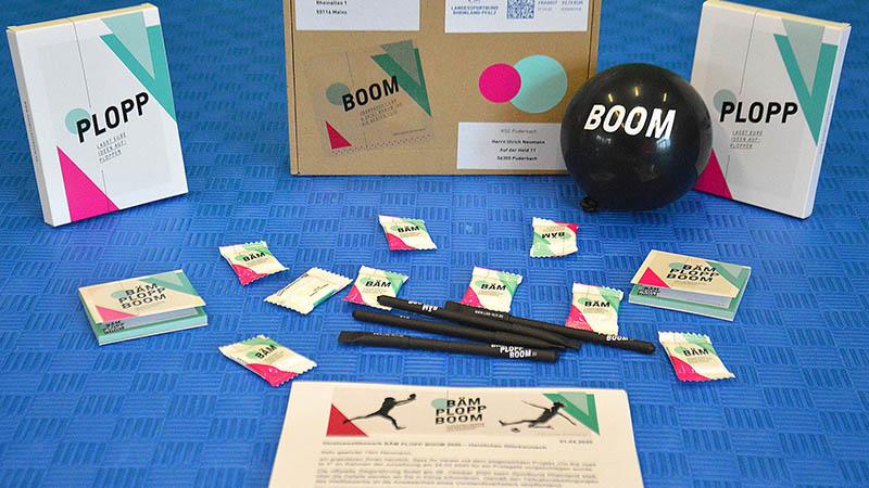 Bäm Plopp Boom des LSB geht an das KSC Karate Team. Foto: privat