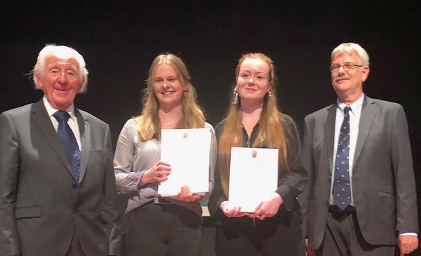 Erfolgreiche Schülerinnen der BBS Betzdorf-Kirchen. (Foto. BBS Betzdorf-Kirchen)