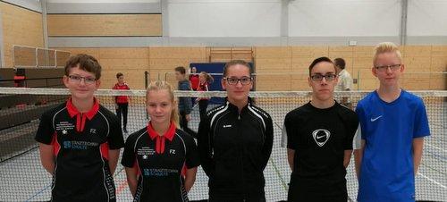 Altenkirchener Badminton-Jugend beim Nachwuchs-Turnier in Linz