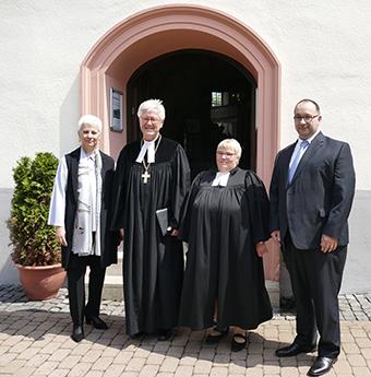 EKD-Ratsvorsitzender Prof. Dr. Heinrich Bedford-Strohm in Daaden