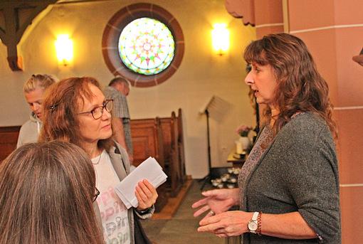 Kirchenführung in Willmenrod: Zu Besuch beim lieben Gott