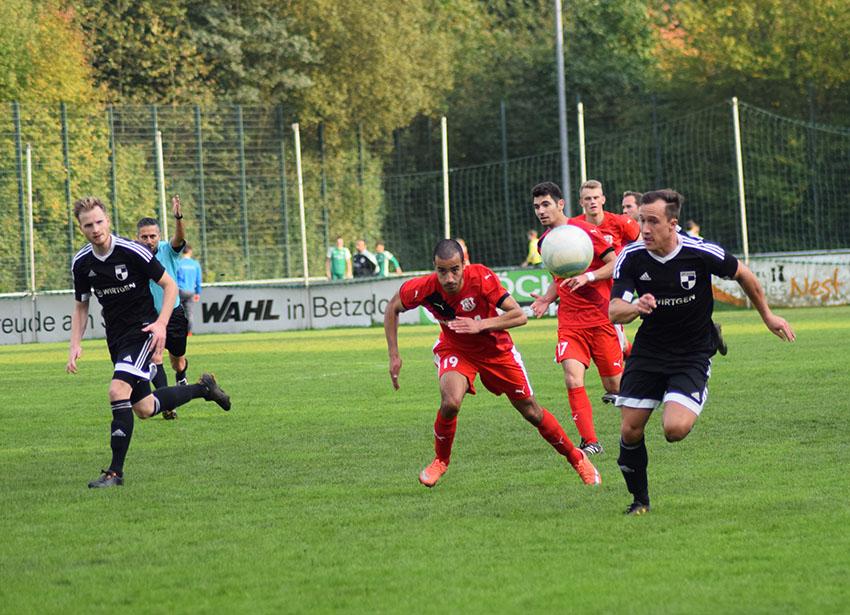 SV Windhagen unterliegt 2:1 in Betzdorf