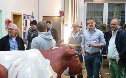 Beyer-Team feierte in bayerischem Ambiente Winterfest