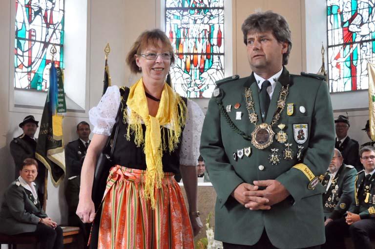 Schützenbruderschaften im Bezirk Wied feierten neuen König