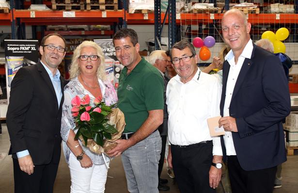 ISR Windhagen gratuliert zu 50-jährigem Betriebsjubiläum