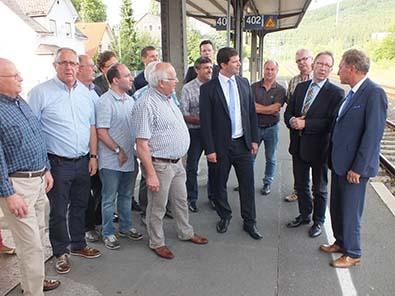 DB-Haltepunkt Brachbach wird barrierefrei
