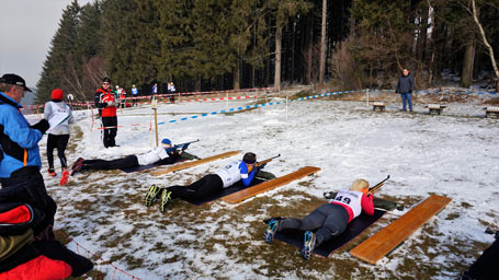 Erste Biathlon Rheinland-Meisterschaften in Emmerzhausen