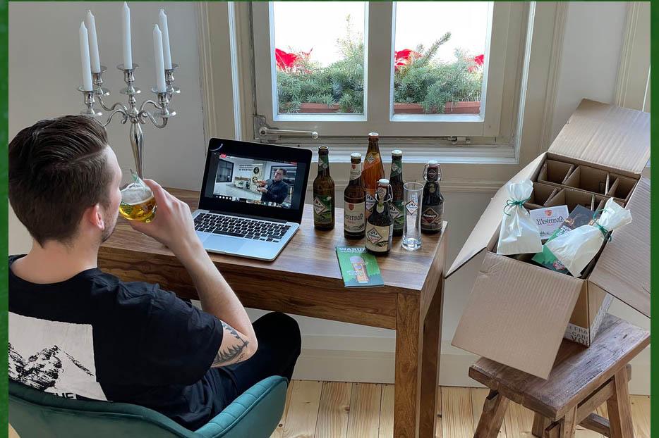 Vatertag - Digitale Brauereiführung statt Frühlingsfest