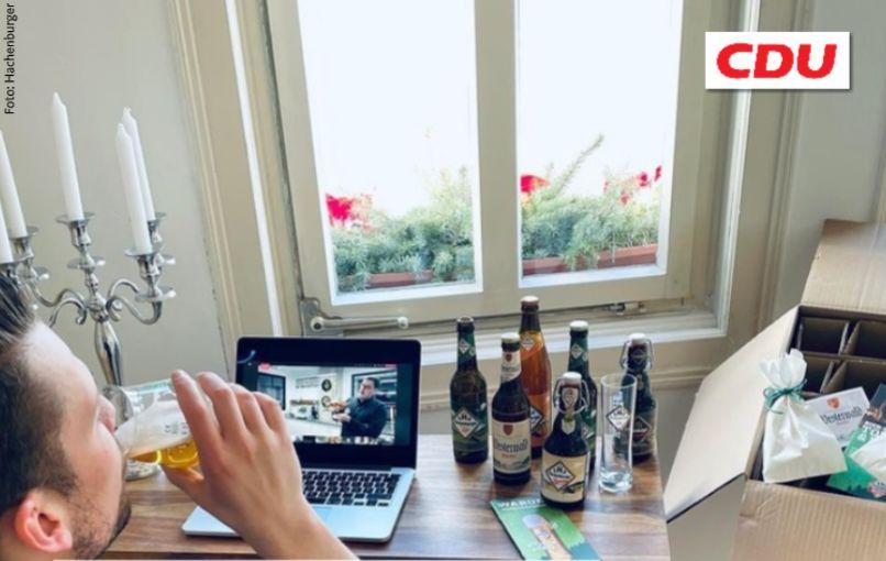 Digitales Bier-Tasting