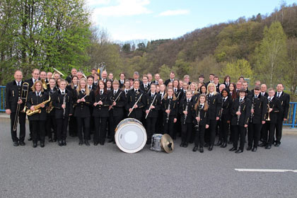 Jahreskonzert der Bergkapelle Birken Honigsessen mit Gästen