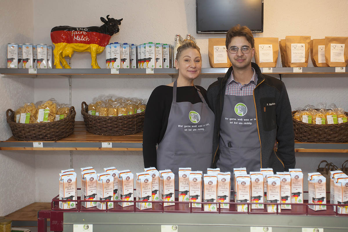 Neuer Biohofladen eröffnet in Puderbach