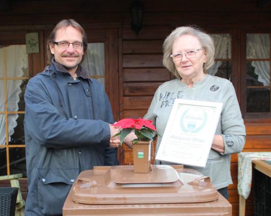 Bioabfalltonne des Monats steht in Etzbach