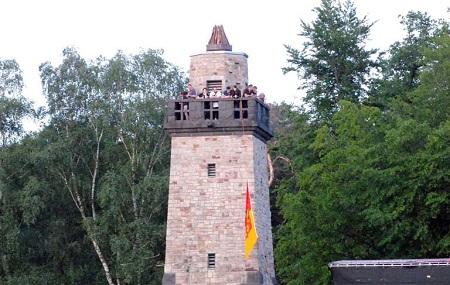 Bismarckturm Altenkirchen erweist sich als Besuchermagnet