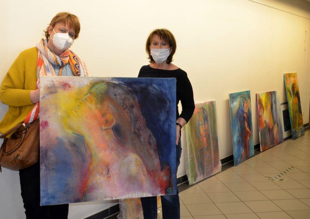 """Kunst im Krankenhaus: """"Der Blick nach innen"""""""