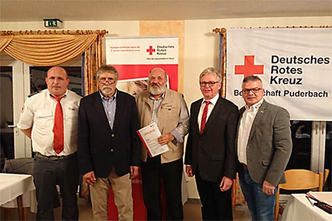 DRK Ortsverein Puderbach ehrte seine Blutspender