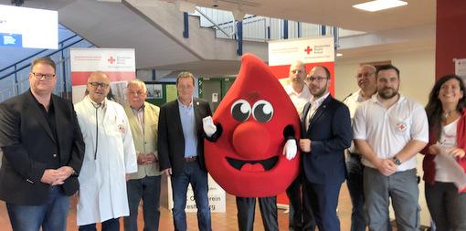 Den Rekord nur knapp verfehlt: Blutspendemarathon in Westerburg