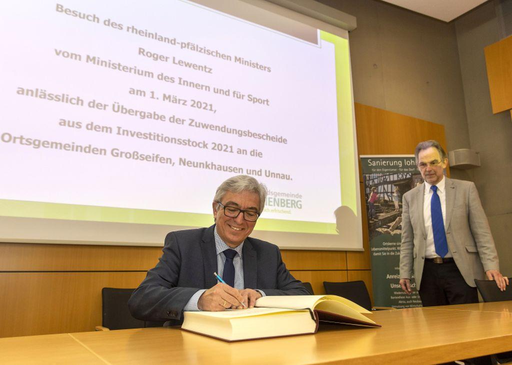 322.000 Euro für Projekte in der VG Bad Marienberg