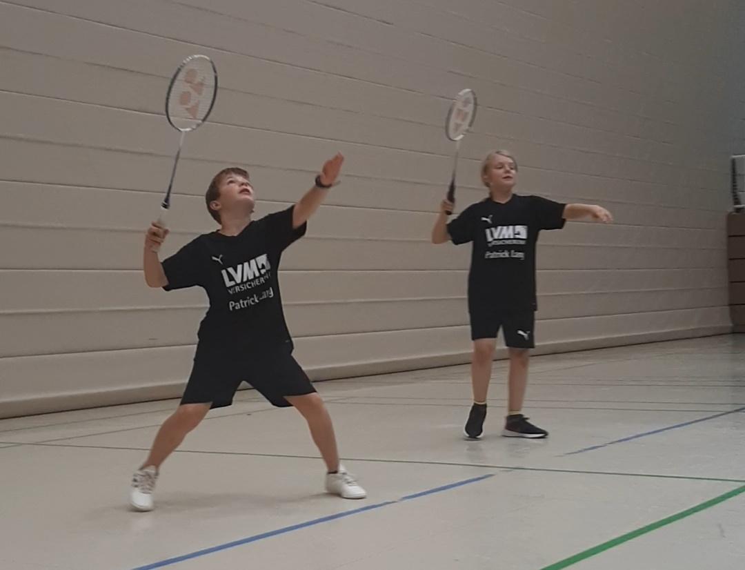 Badmintonminis starteten hochmotiviert in Gebhardshain
