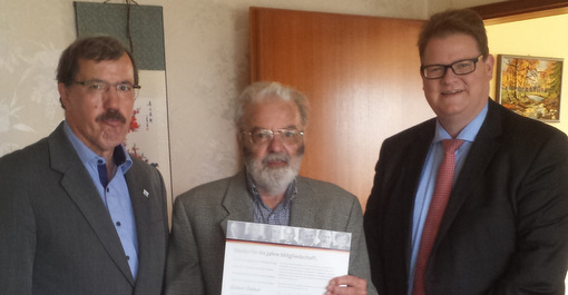 Gerhard Dasbach für 60-jährige CDU-Mitgliedschaft ausgezeichnet