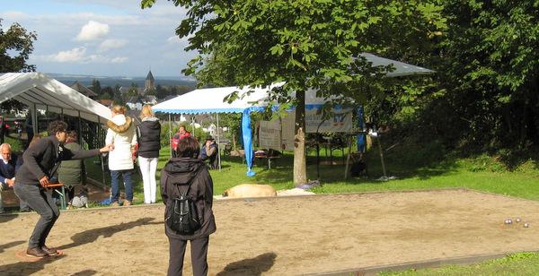 Zum 13. Mal: Boule-Turnier in Horhausen