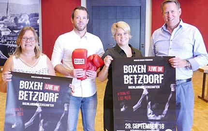 Zum zweiten Mal Boxen live in der Stadthalle Betzdorf