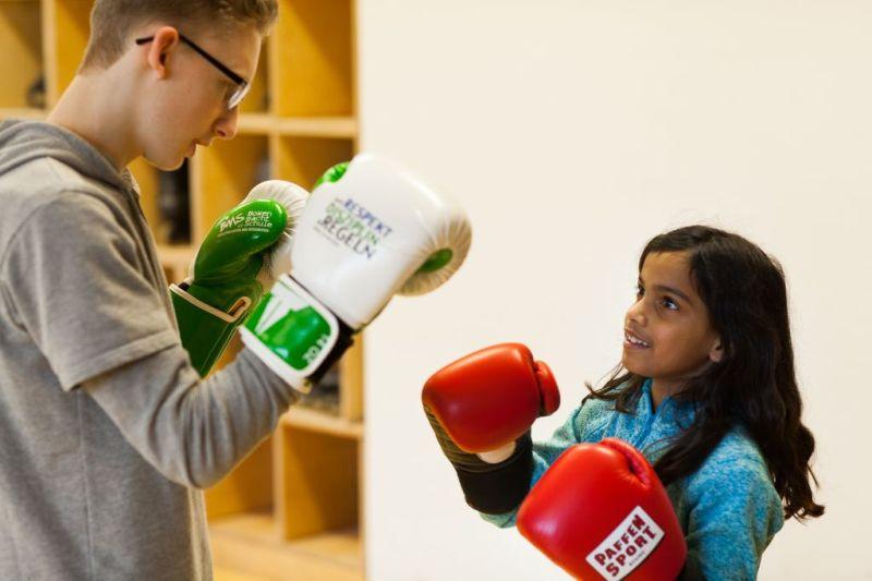 Deutscher Integrationspreis 2019: Boxen macht Schule