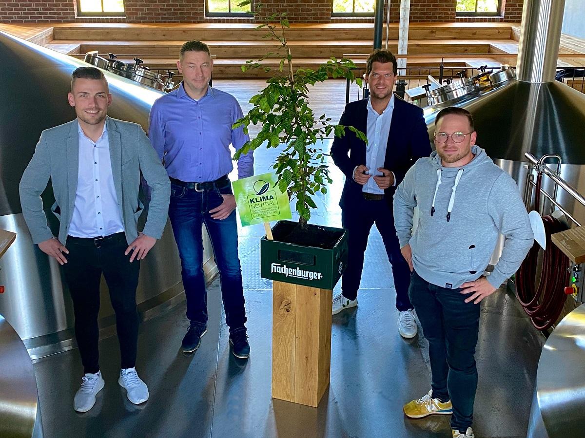 Westerwald-Brauerei zu 100 Prozent klimaneutral