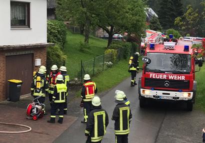 Defekte Heizung f�hrte zu Brandalarm in Friesenhagen-Bettorf