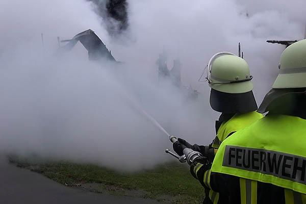 Mobilheim auf Campingplatz Elbingen brannte ab